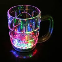 Rainbow Glass Color Cup
