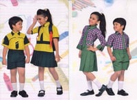 School Uniform For Kids (Shirts And Skirts)