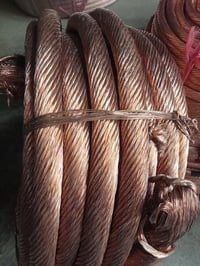 Copper Conductor Strip, Bunched Twisted, Shunts