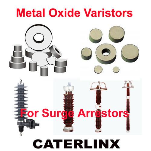 Metal Oxide Varistors (MOV Varistors) For Surge Arrestors