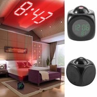 Digital Led Snooze Talking Alarm Clock With Date