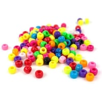 Round Shape Plastic Beads