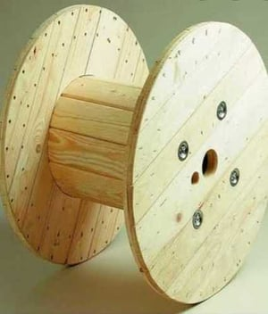 Hard Wooden Cable Drum