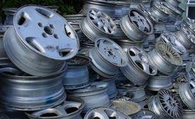 Polished Aluminum Alloy Wheel