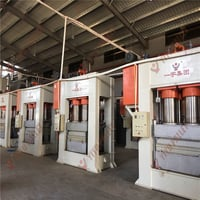 Complete Production Line For Compress Wood Pallet