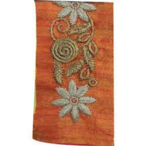Cotton Embroidered Neck Lace