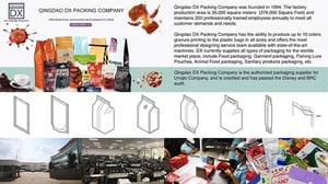 Printed Pouch For Food Packaging