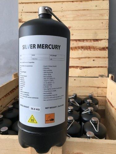 Prime Silver Liquid Mercury 99.999% Purity