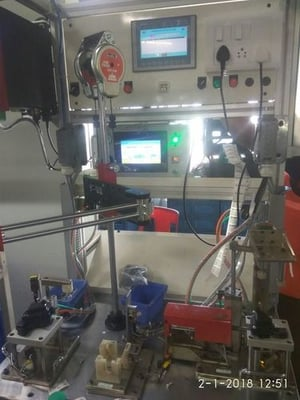 Special Purpose Machine and Assembly Line Set up