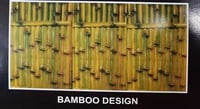 Bamboo Design Metal Sheet