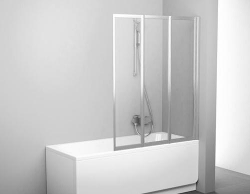 Three Part Folding Bathtub Shower Wall