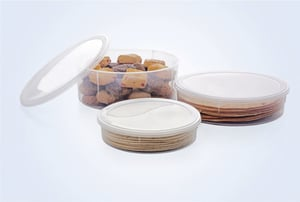 Moisture Proof Round Container