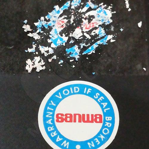Security Tamperproof Label Warranty Sticker