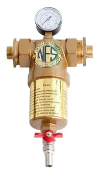 FS-10 Self Cleaning Inline Water Filter (10,000 LPH)