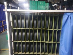 Bag (Cloth) Partitions Trolley