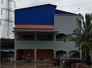 Modular Roof Shed For Prefabricated Building