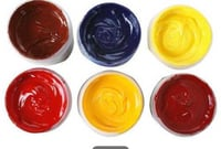 Multi Colored Textile Printing Ink