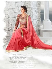 Ladies Saree With Blouse Piece
