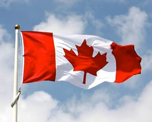 Fabric For Canada Flags