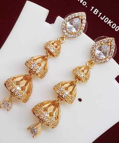 Imitation Gold Fancy Earring