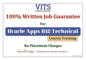 Oracle Apps R12 Technical Training Course