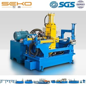 Fully Air Cooling Hydraulic Pressing Welding Joint Leveling Machine