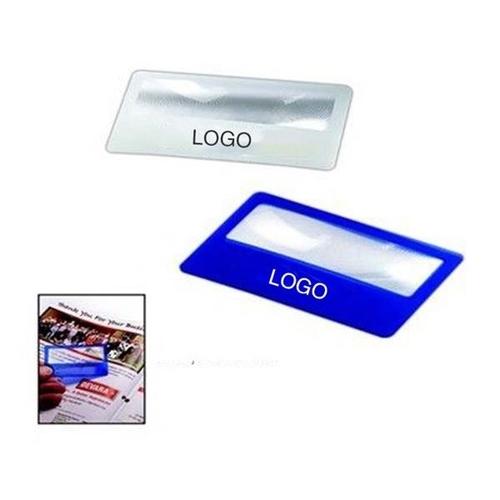 PVC Credit Card Magnifier