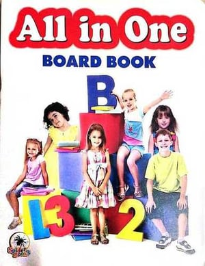 All in One Board Book For School