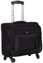 360 Degree Rolling Overnighter Laptop Trolley Bag