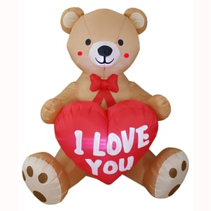 Inflatable Teddy Bears For Valentine'S Day