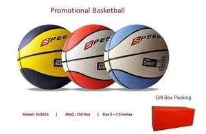 Multi Rubber Promotional Basketball