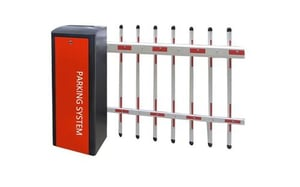Anxia Vehicle Parking Access Control Fence Boom Barrier Gate