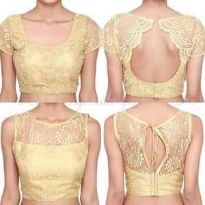 Gold Embroidered Ladies Blouse