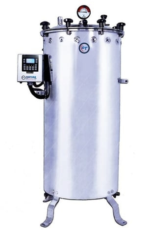 Vertical Autoclave Double Walled