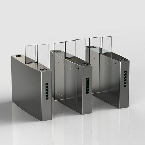 Electric Sliding Security Entrance Control Turnstile Gates For Doors