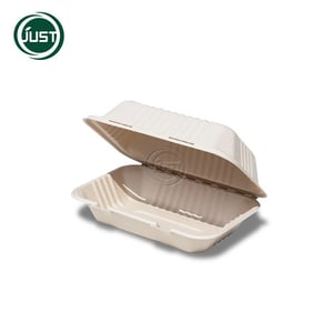 """Lunch Box 9""""\\303\\2276"""" Biodegradable Paper Pulp Tableware"""