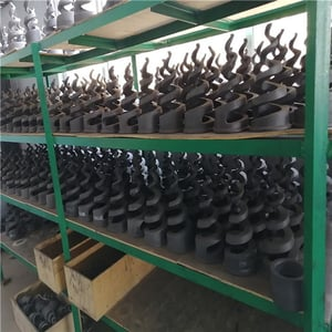 High Temperature Resistance Fgd Rbsic Nozzle