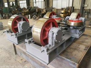 Driven Roller Kiln Support Assembly
