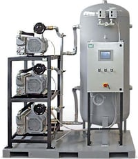 Single Stage Central Vacuum System