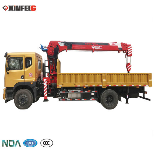 Truck Mounted Crane With Smooth Operation
