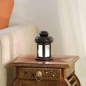 Hanging Colored T Lite Lantern 6X4 Inches