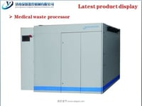 Multifunction Medical Waste Processor