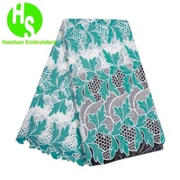 High Quality Water Soluble African Lace Fabric