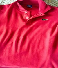Red Color Branded T Shirt
