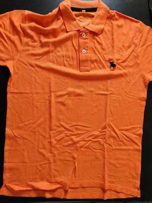 Branded Short Sleeves Polo Neck T Shirts