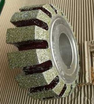 Recoating Diamond Wheel For Electroplated