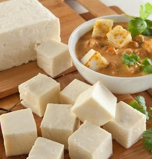 Rich In Protein Organic Paneer