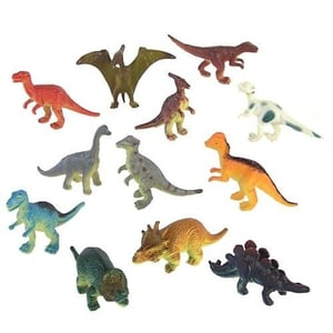 Rubber Dinosaur Toy Packet
