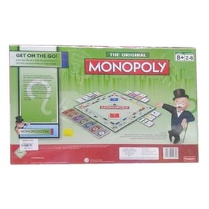 Monopoly Board Puzzle Game