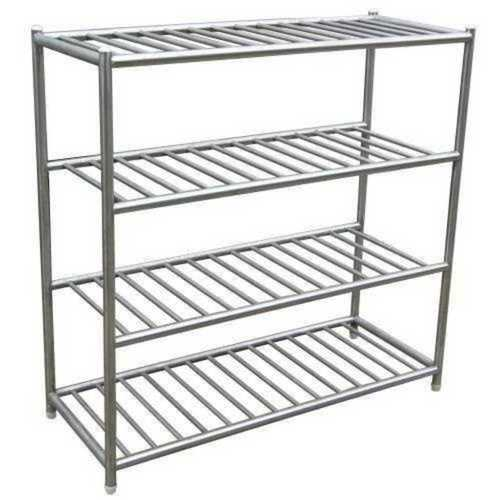 Stainless Steel Rack for Storage and Department Shelving